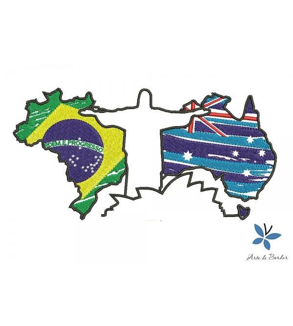 Brazil and Australia 001