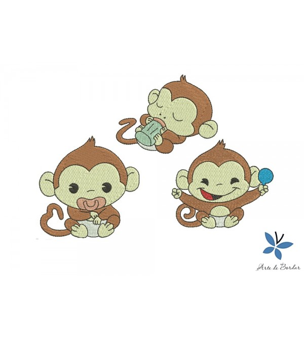 Free design Monkey Collection 002