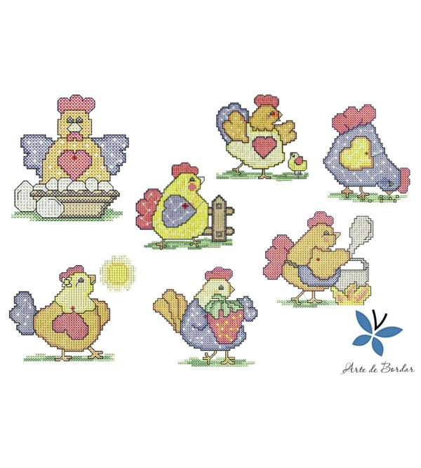 Chickens Collection 001