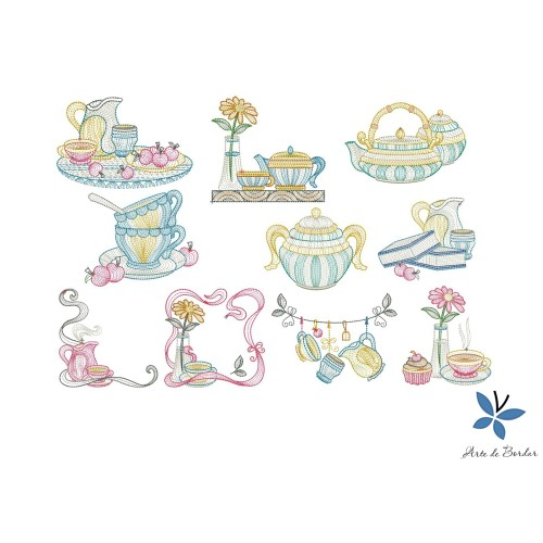 Tea set 005