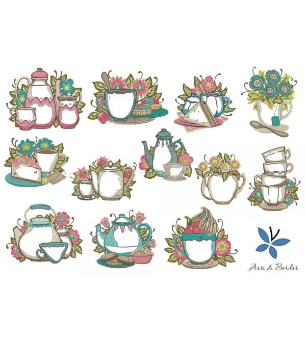 Tea set 009