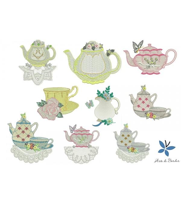 Tea set 002