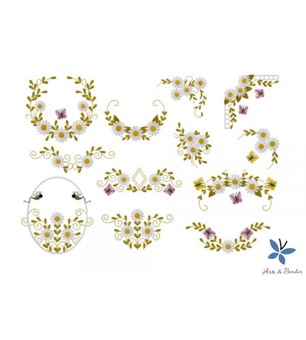 Daisy Flowers 001