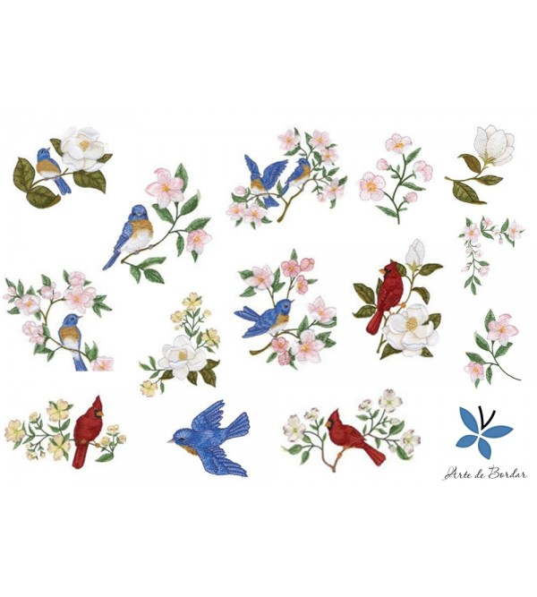 Flowers and Birds 003