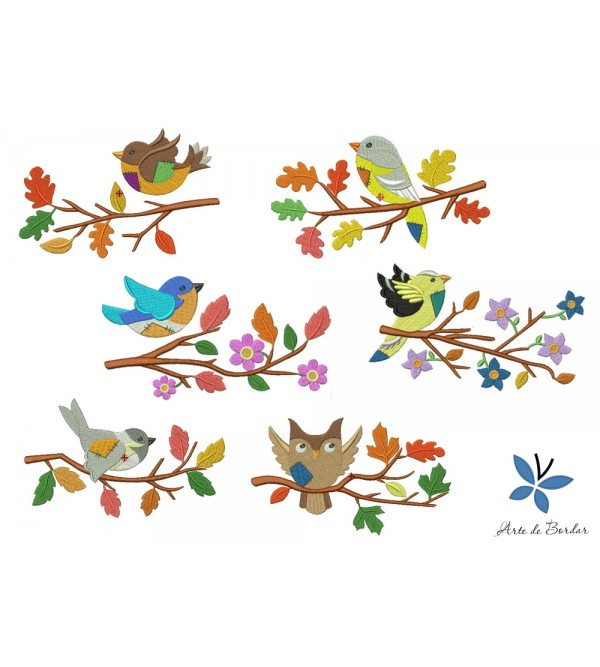Flowers and Birds 004