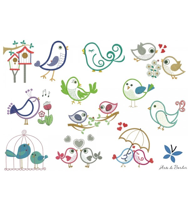 Flowers and Birds 007