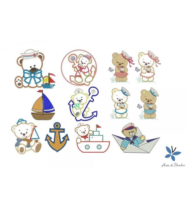 Teddy Bear Sailor 002