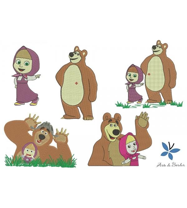 Masha and the Bear 004