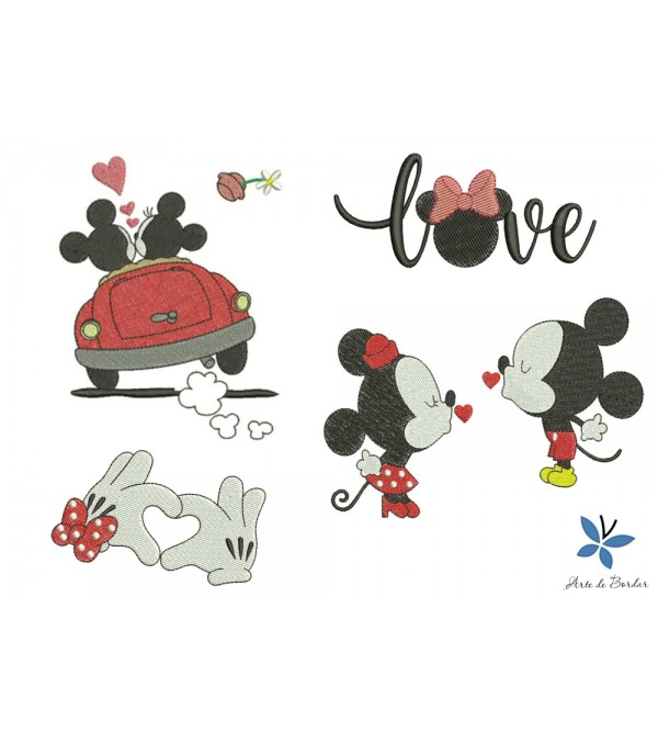 Mickey and Minnie 016