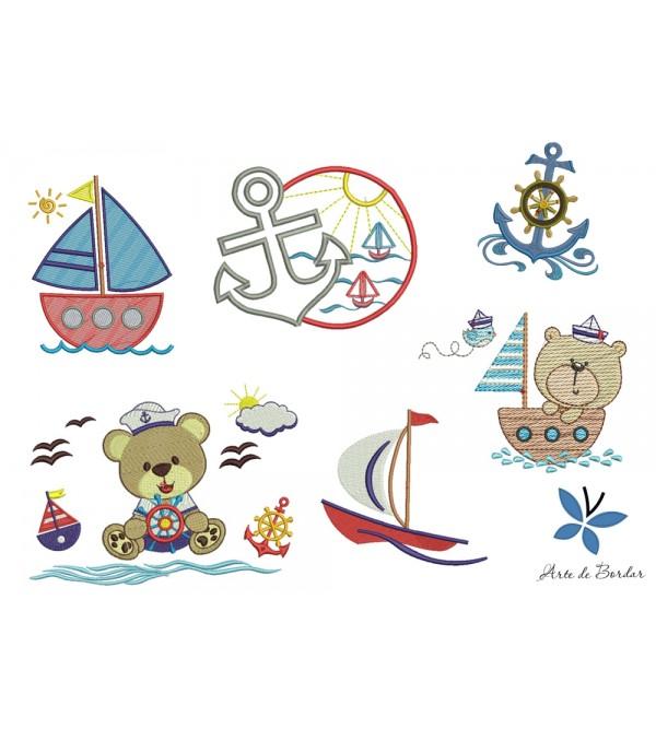 Teddy Bear Sailor 006