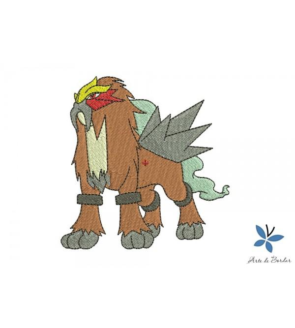Entei Pokemon 001