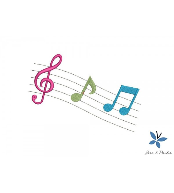 Musical notes 002