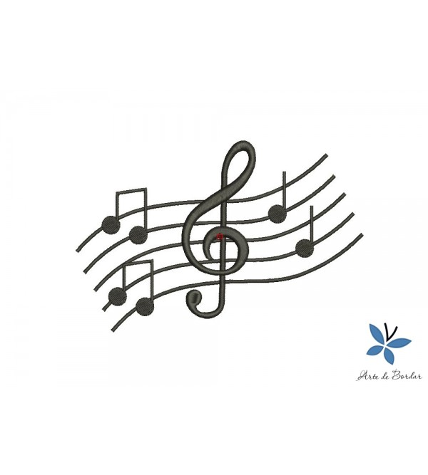 Musical notes 004