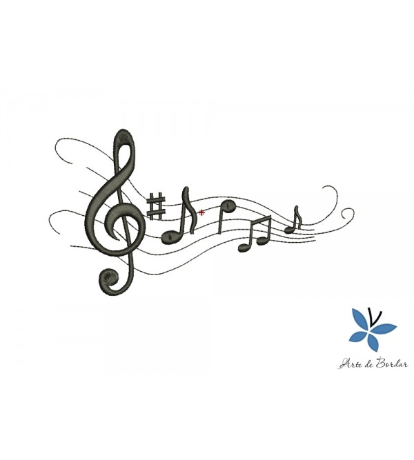 Musical notes 006