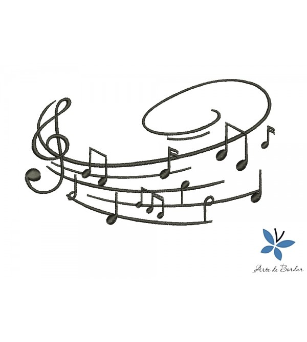 Musical notes 007