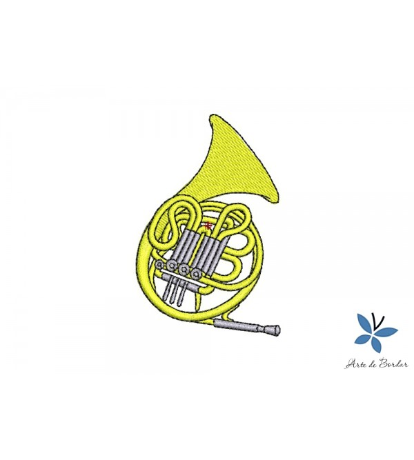 French horn 001