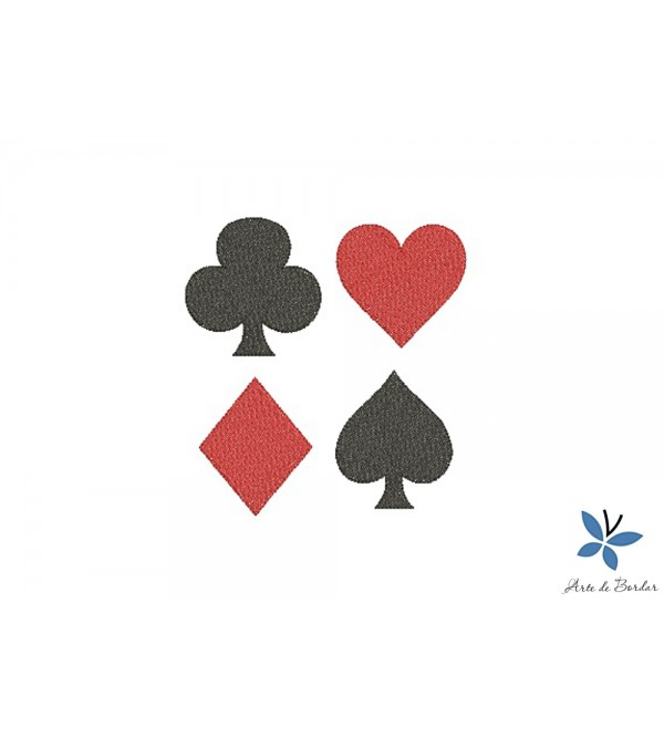 Playing card suits 001