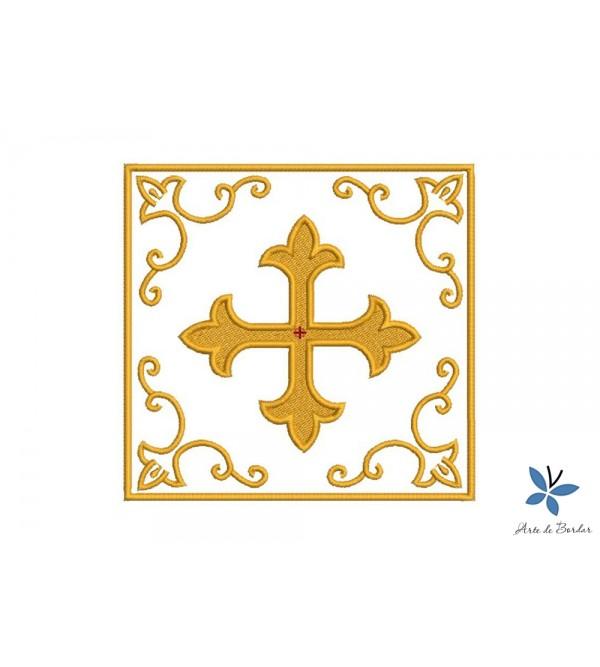 Cross Monogram 002
