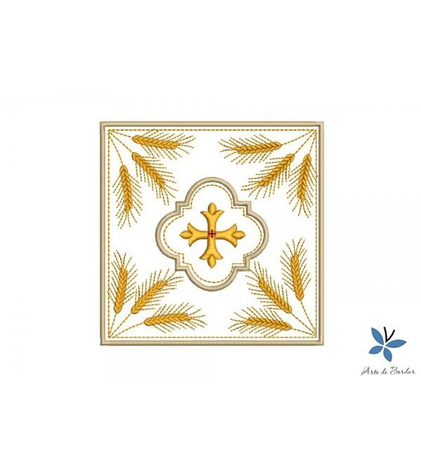 Cross Monogram 003
