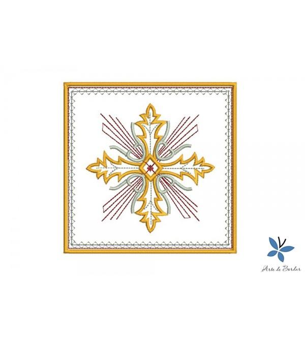 Cross Monogram 005