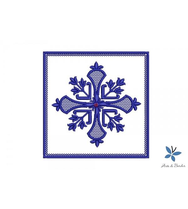 Cross Monogram 006