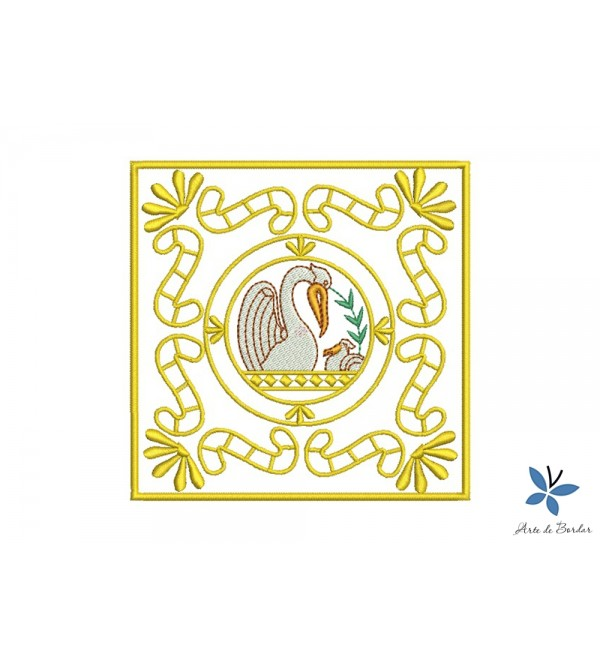 Pelican Monogram 001