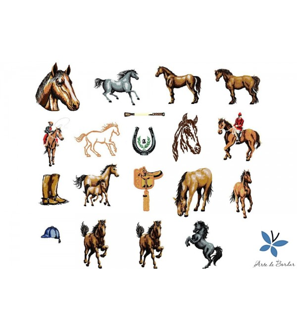 Horses Collection 001